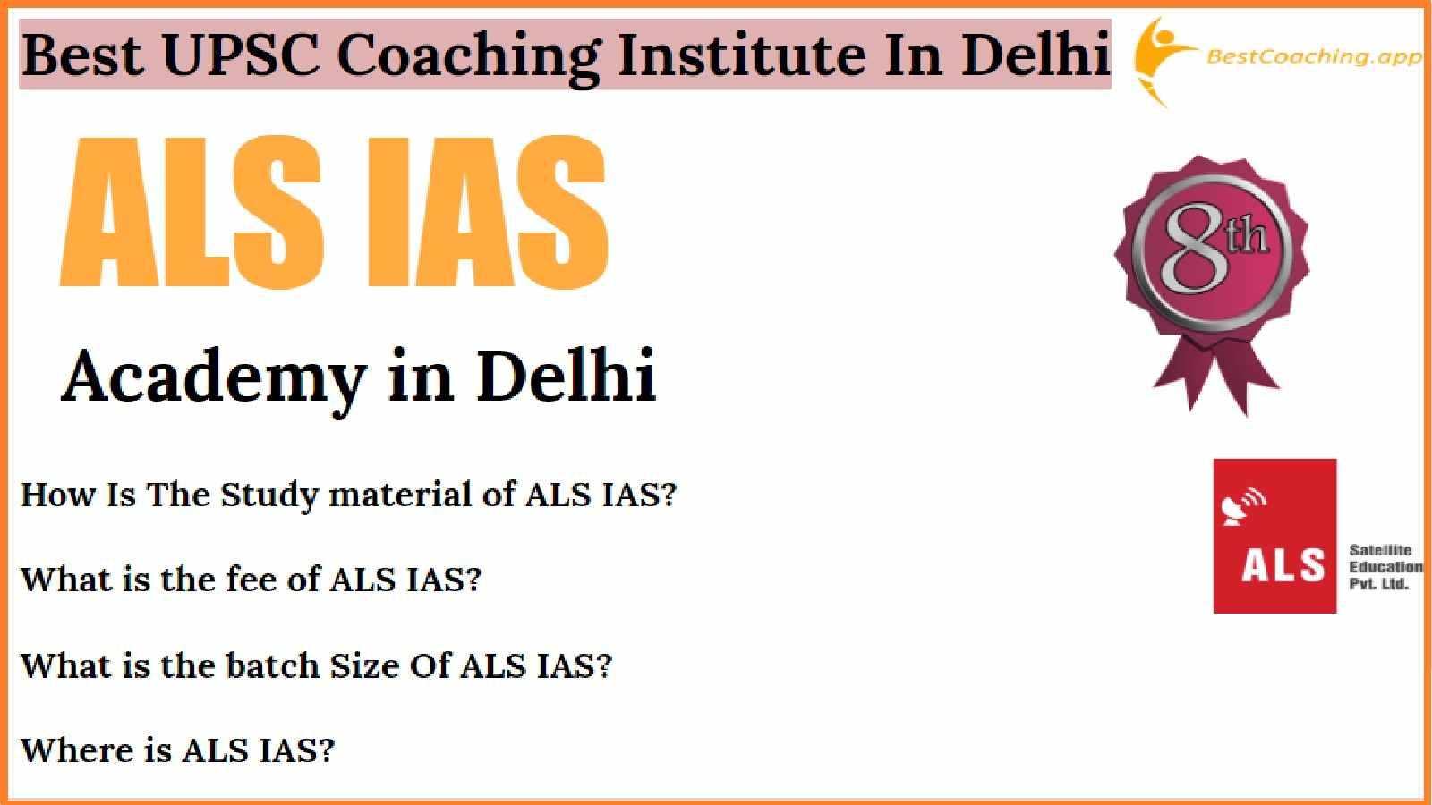 Top UPSC Coaching of Delhi