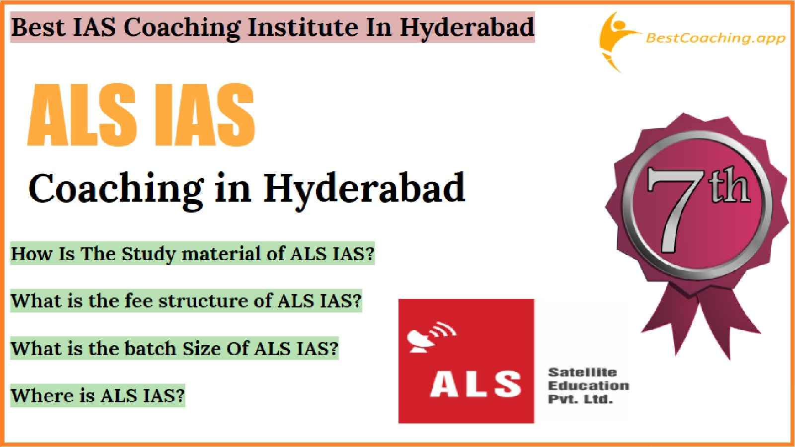 IAS Coaching Of Hyderabad