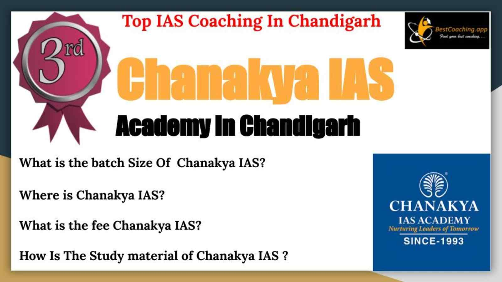 Best IAS Coaching Centers In Chandigarh