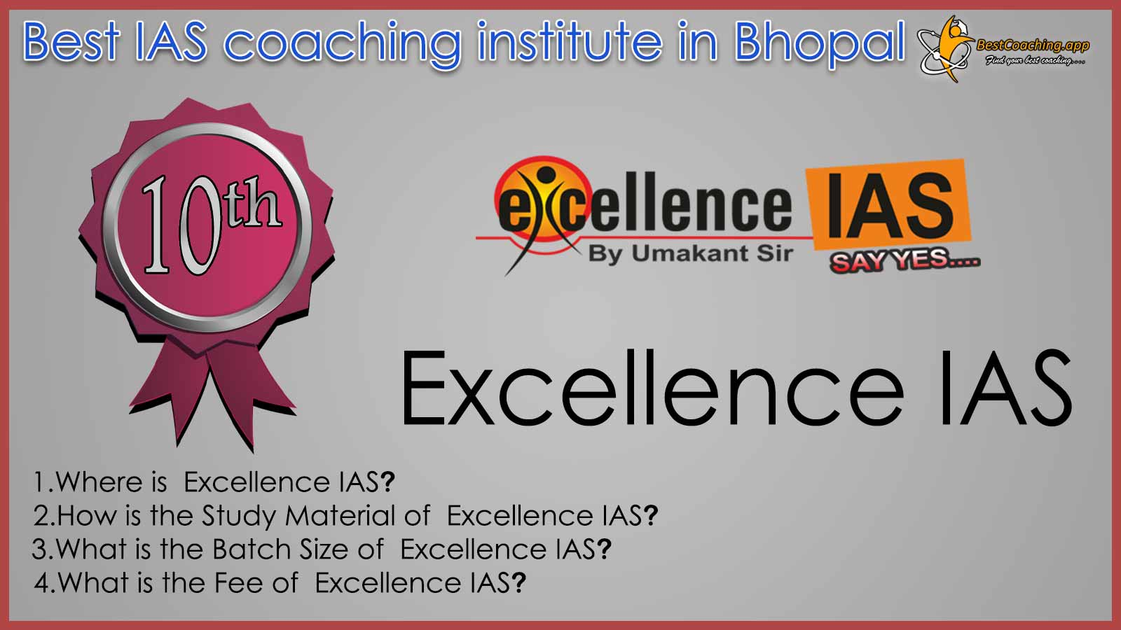Excellence IAS Coaching