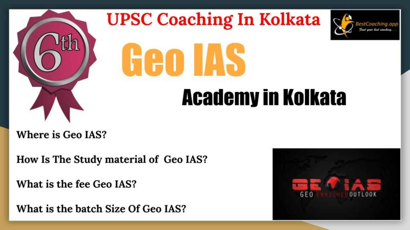 Best UPSC Coaching of Kolkata