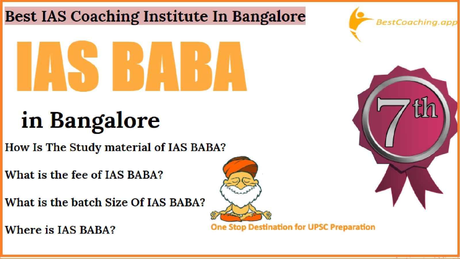 IAS Coaching Of Bangalore
