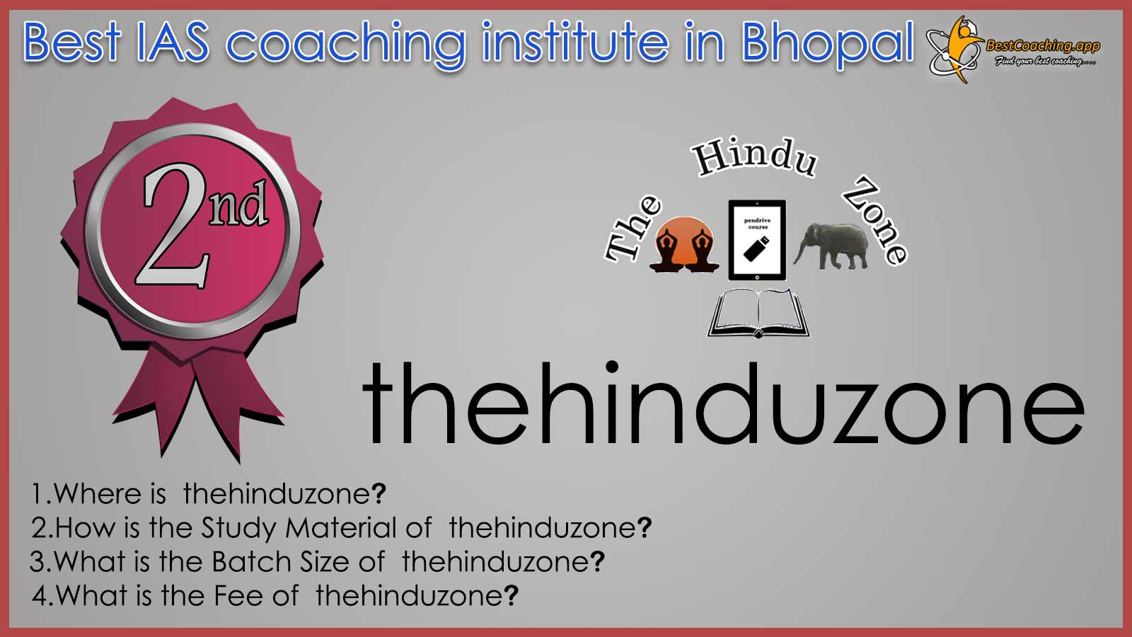 thehinduzone Online IAS Coaching