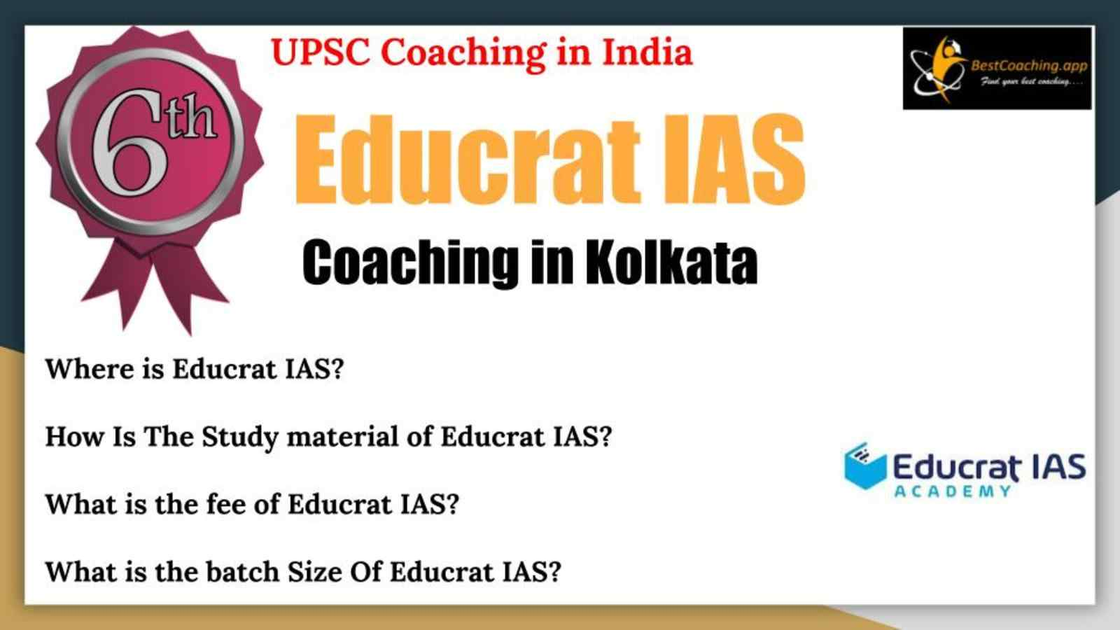 Top UPSC Coaching In India
