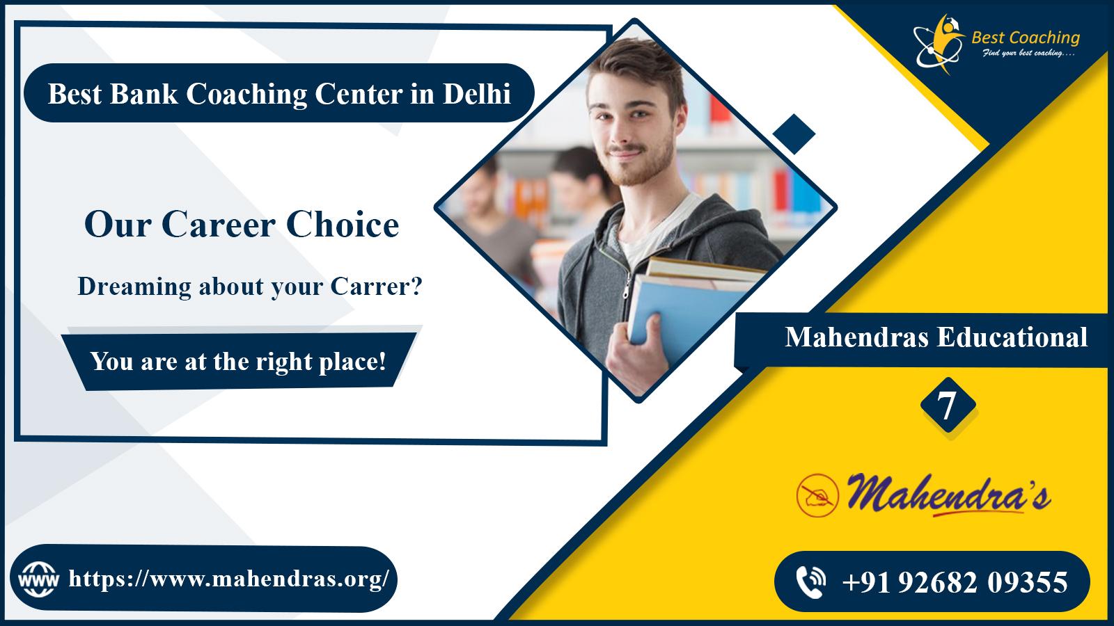 Top 10 Bank Coaching In Delhi