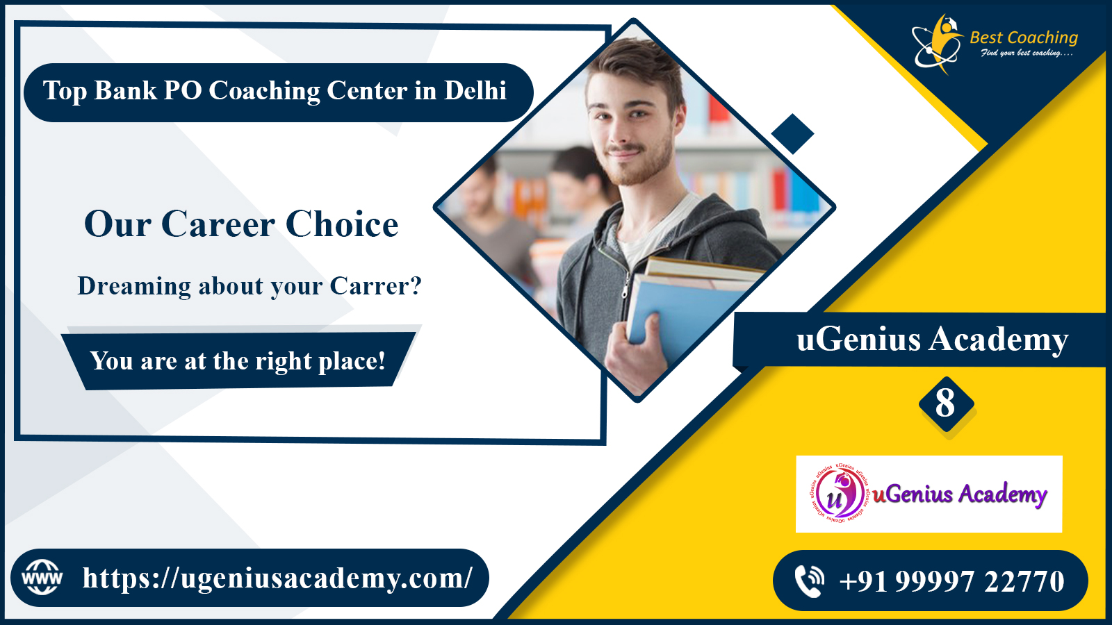Top Bank Coaching Centre for Bank in Delhi